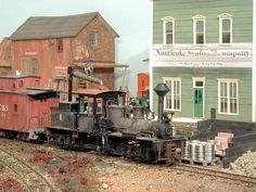 Steve Fisher's Deep Run Railroad Dec. 2004