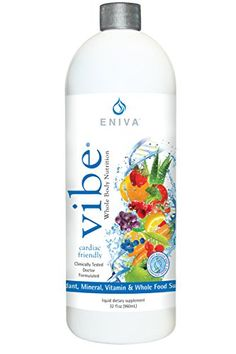 Eniva VIBE Fruit Sensation Liquid Full Spectrum Daily Multi Minerals Vitamins 32 oz * You can get additional details at the image link.