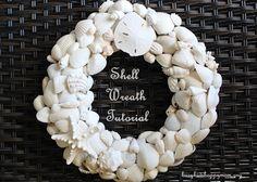 Shell Wreath Tutorial