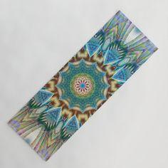 Curious and excited - Colorful mandala Yoga Mat by Coleggenna Mandala Coloring, Colorful, Yoga, Lifestyle