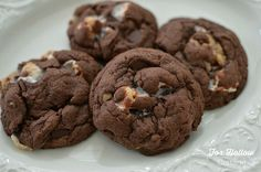 Rocky Road Chocolate Chip Cheater Cookie Recipe - Fox Hollow Cottage