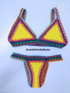 Biquíni Vicky. #crochet #crochê #biquíni #kiini #kiinispirit #kiininspired #bekiini