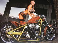 "Page ""Not the Normal"" builds, from WCC West Coast Chopper Builds Badass Motorcycle Helmets, Motorbike Girl, West Coast Choppers, Hot Bikes, Harley Davidson Bikes, Vintage Bikes, Biker Girl, Custom Bikes, Women Lingerie"
