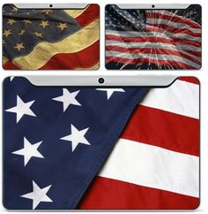 4th of july - galaxy tab 10.1 - wrappz skin