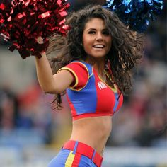 "The Crystals are the Official cheerleaders for Crystal Palace Football Club. The girls were the first ""NFL"" style cheerleaders in sport in the UK and they have had the most press coverage of any squad in the UK."