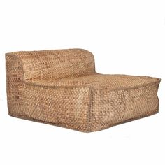 Shop the Masekela Oversized Lounger. The Uniqwa Furniture Masekela Oversized Lounger is made from a foam chip and dacron filled hardwood frame with water hyacinth woven cover. The woven water hyacinth cover is from sustainable water hyacinth, a beautiful African Furniture, Boutique Deco, Chaise Vintage, Interiors Online, Water Hyacinth, Reclaimed Timber, Bed Head, Bold Fashion, Occasional Chairs