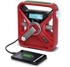 FRX3+ American Red Cross All Purpose Weather Alert Radio, Flashlight and Phone Charger