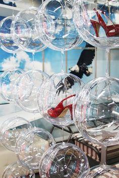 Декоративные модули серии Прозрачные шары