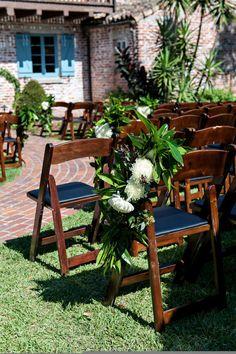 Photography: Kristen Weaver Photography - http://www.stylemepretty.com/portfolio/kristen-weaver-photography Florist: Raining Roses - http://www.stylemepretty.com/portfolio/raining-roses   Read More on SMP: http://www.stylemepretty.com/2014/12/29/luxury-garden-wedding-in-winter-park-florida-at-casa-feliz/