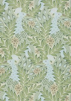 DESMOND, Aqua and Green, T2922, Collection Paramount from Thibaut