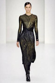 The Sexiest Dresses of Milan Fashion Week - Designer Dresses Milan Fashion Week Fall 2014 - ELLE- Salvatore Ferragamo
