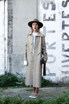 ストリートスナップパリ - Litkovskayaさん | Fashionsnap.com