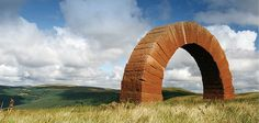andy goldsworthy striding arches at dumfries