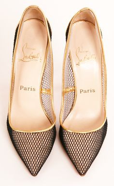 No centimeter . . . from the sole to the inner sole . . . is left unconsidered: CHRISTIAN LOUBOUTIN