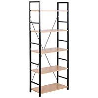 Furniture of America Enitial Lab Marlo 10-Shelf Shifting Display Stand//Bookcase