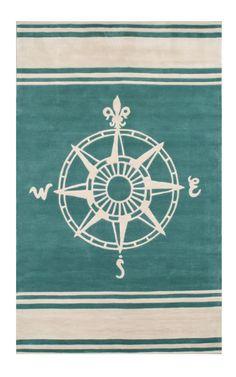 Compass Rug.