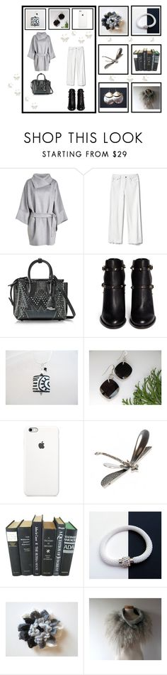 """""""Fashion & Gifts"""" by keepsakedesignbycmm ❤ liked on Polyvore featuring MaxMara, Gap, MCM, Valentino, jewelry, accessories and decor"""