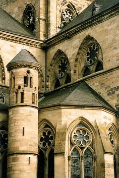 The Basilica of St. Kastor, the oldest church of Koblenz is located near the German Corner, at the confluence of the Rhine and Mosel.