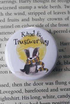 Hogwarts Houses Badge Set Badge set of 4 Gifts For