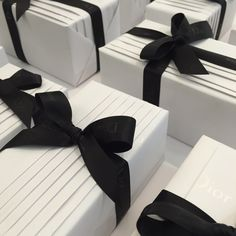 Gift Wrapping for Dior by www.janemeans.com