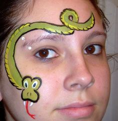Like this snake head better than what I have been painting.  Gonna try this.