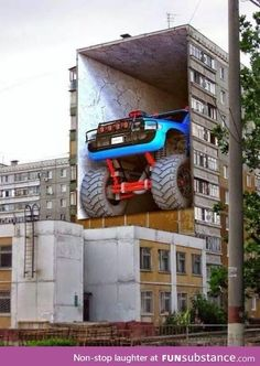 Street Art Is Always Good For The Soul. Amazing art in the streets of the world. Images for Amazing street art. 3d Street Art, Murals Street Art, Art Mural 3d, Amazing Street Art, Street Art Graffiti, Street Artists, Graffiti Murals, Graffiti Artists, Mural Painting