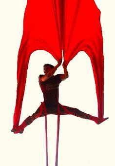 Aerialsilks, aerial silks, técnica aérea en telas, acrobacia aérea, México D.F.
