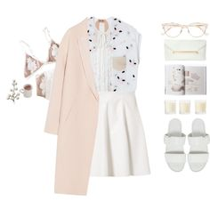A fashion look from April 2017 by riasgremoryx featuring By Malene Birger, Vero Moda, Vagabond, Cutler and Gross e Shabby Chic