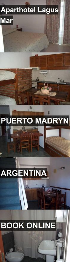 Aparthotel Lagus Mar in Puerto Madryn, Argentina. For more information, photos, reviews and best prices please follow the link. #Argentina #PuertoMadryn #travel #vacation #hotel