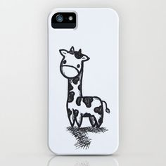 GIRAFFE iPhone Case by Kian Krashesky | Society6