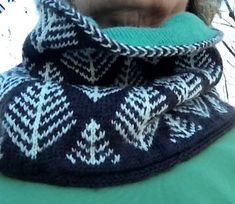 Fir tree cowl by susan murphy - free Neck Warmer, Diy And Crafts, Knitting, Crochet, Pattern, Fir Tree, Color, Scarves, Tours