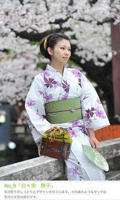 YUKATA summer kimono of JAPAN