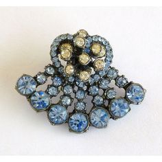 Blue Lapel Pin Brooch, Blue Rhinestone Pin Brooch, Lapel Jewelry ($17) ❤ liked on Polyvore featuring jewelry, brooches, pin brooch, blue brooch, blue rhinestone brooch, blue rhinestone jewelry and rhinestone broach