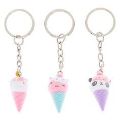 Shop Claire's for the latest trends in jewelry & accessories for girls, teens, & tweens. Find must-have hair accessories, stylish beauty products & more. Kawaii Jewelry, Cute Jewelry, Viaje A Disney Orlando, Cute Keychain, Keychains, Fin Fun Mermaid Tails, Galaxy Nail Art, Barbie Doll Set, Unicorn Fashion