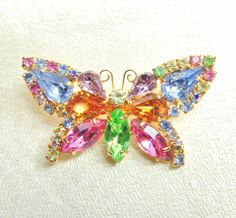 In Living Color! by Michelle Bonanno on Etsy Remembering Mom, Butterfly Jewelry, Etsy Handmade, Photo Jewelry, Perfect Place, Sparkles, Invite, Rhinestones, Beading