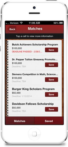 Apps We Love: Scholly Lets You Find Scholarships For College #apps #mobileapps