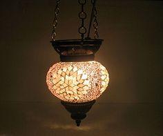 Pink moroccan lantern mosaic hanging lamp glass chandelier light turkish candle holder h 56 handmade_antiques http://www.amazon.com/dp/B01EHVZ7YQ/ref=cm_sw_r_pi_dp_t4Hfxb112YJSA