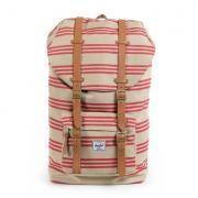 Herschel Little America - Studio Red Khaki Stripe Backpack