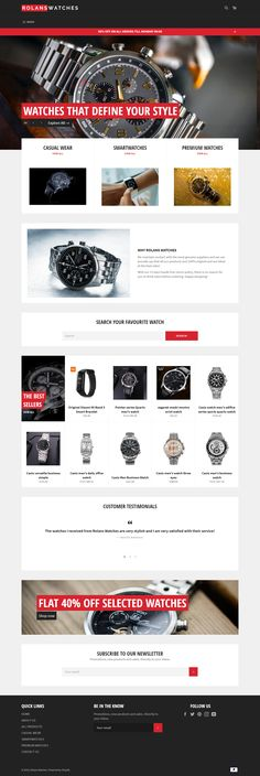 Powerful Watchesfully autopilot DROPSHIPPING WEBSITE BUSINESS free domain