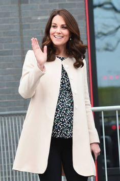 Prince William Duke of Cambridge and Catherine Duchess of Cambridge leave SportsAid after undertaking engagements celebrating the Commonwealth at the...