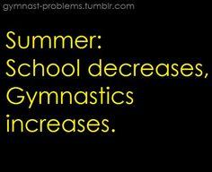 its a gymnastics thing | true life. | Its a gymnastics thing...