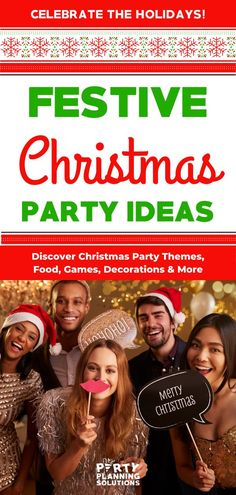 "As the host of a Christmas party, you have a lot on your plate. There's so much to plan- holiday decorations, party food, gifts and Christmas party games. You want everything to be just right—and I can help you! Whether you're having a close family gathering, an office party, or a festive night with friends, it's important to get everything right to make sure the guests enjoy ""the most wonderful time of the year!"" Celebrate Good Tidings with the Best Christmas Party Ideas…"