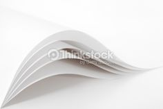 Blank and white pages