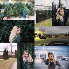 "This girl did the ""ugly location photography challenge"" and did a pretty good job."
