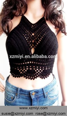 What is Forex? Mode Crochet, Crochet Bra, Crochet Halter Tops, Crochet Crop Top, Crochet Clothes, Festival Tops, Bustiers, Bralette Pattern, Mode Du Bikini
