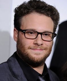 Seth Rogen- I will forever have a huge crush on this man....Chubby bearded guys with glasses always my down fall