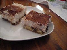 TiRAWmisu (banány, kakao, kešu, zrelý kokosový orech, 2 mladé kokosy...)