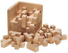 Unzählige Holz-Ts sind zum dekorativen Würfel zusammengesetzt. Wer diesen zerlegen und wieder zusammenbauen will, hat ein Problem. Mit praktischem Baumwollsäckchen. Das Puzzle erhalten Sie in einer ansprechenden Geschenkverpackung! Boxgröße: 10,5 x 10,5 x 10 cm. Achtung: Nicht für Kinder unter 36 Monaten geeignet. Abmessungen (in mm): 105x105x105