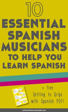 In need of some musical inspiration to help you learn French? Here are my favourite 10 essential French musicians to help you learning French. Click through to read more! Learn French Free, Learn Spanish Free, Learn To Speak Spanish, Free In French, How To Speak French, Spanish Practice, Free Spanish Lessons, Spanish Lesson Plans, Spanish Language Learning