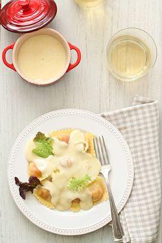 Pasta fresca con fondue